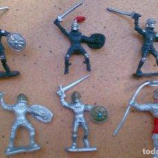 Figuras de Goma y PVC: LOTE 6 SOLDADOS TIPO EXIN MARCADOS CHINA. Lote 131224004