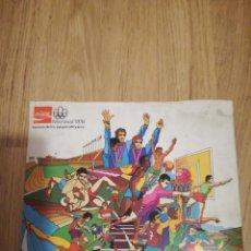 Figuras de Borracha e PVC: ALBUM CROMOS COCA COLA 1976 INCOMPLETO CAMISETA FUTBOL FOOTBALL SHIRT. Lote 131287715