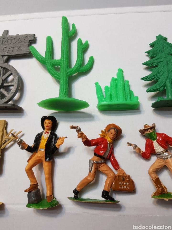 Figuras de Goma y PVC: Lote Comansi de la serie Bonanza - Foto 3 - 131296742