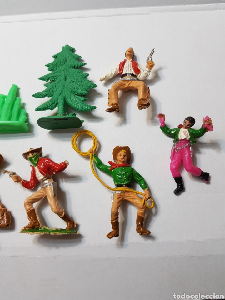 Figuras de Goma y PVC: Lote Comansi de la serie Bonanza - Foto 4 - 131296742