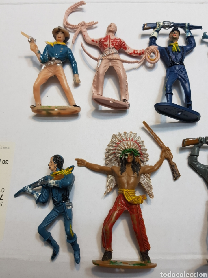 Figuras de Goma y PVC: Lote 16 figuras Comansi originales - Foto 2 - 131297810