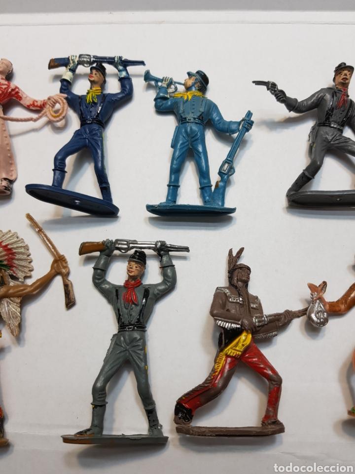 Figuras de Goma y PVC: Lote 16 figuras Comansi originales - Foto 3 - 131297810