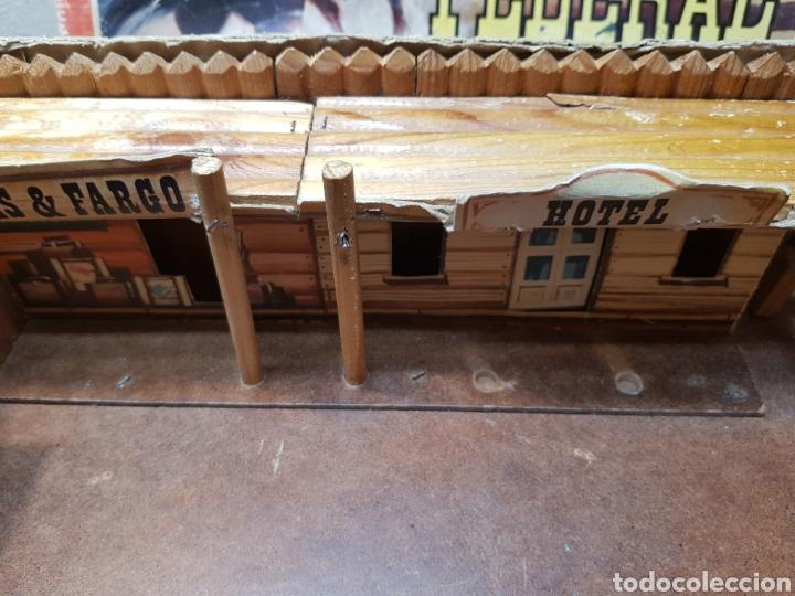 Figuras de Goma y PVC: Fort Federal de Comansi primera edición totalmente de madera muy raro y escaso - Foto 2 - 131298187
