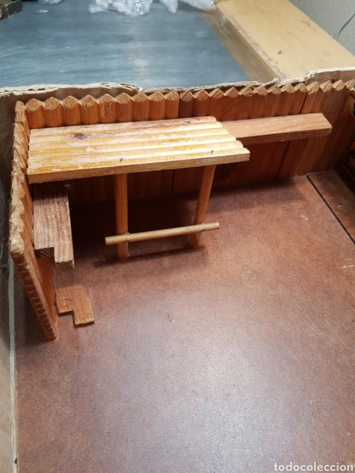 Figuras de Goma y PVC: Fort Federal de Comansi primera edición totalmente de madera muy raro y escaso - Foto 4 - 131298187