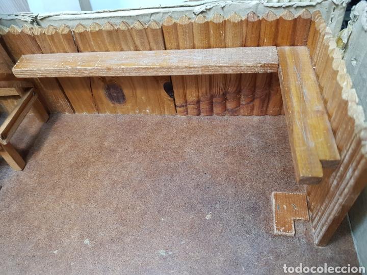Figuras de Goma y PVC: Fort Federal de Comansi primera edición totalmente de madera muy raro y escaso - Foto 5 - 131298187