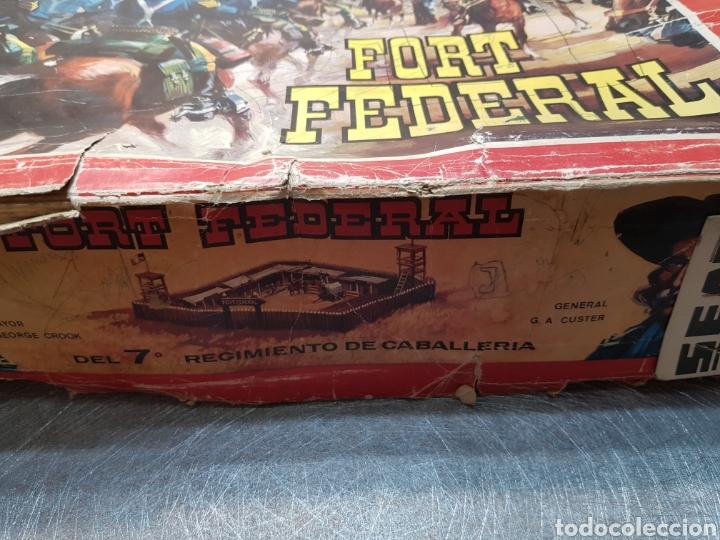 Figuras de Goma y PVC: Fort Federal de Comansi primera edición totalmente de madera muy raro y escaso - Foto 6 - 131298187