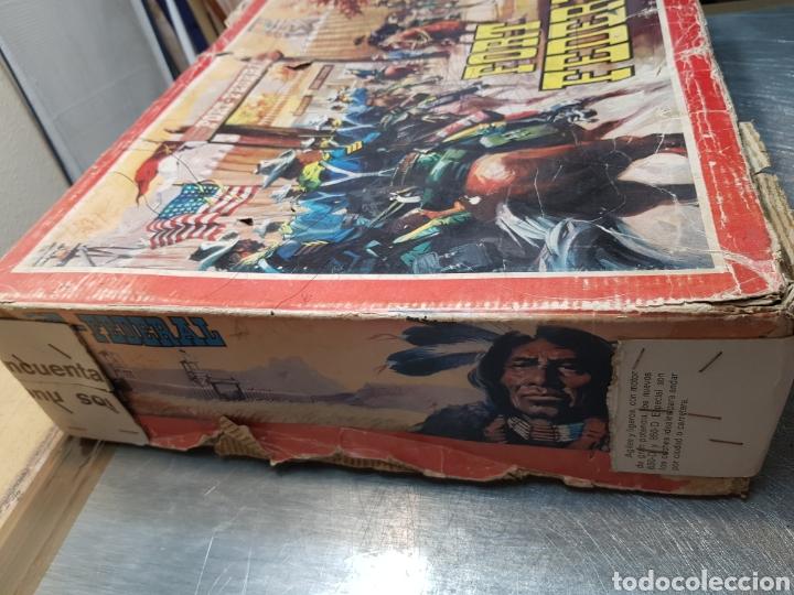 Figuras de Goma y PVC: Fort Federal de Comansi primera edición totalmente de madera muy raro y escaso - Foto 8 - 131298187