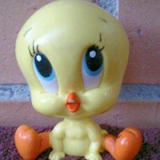 Figuras de Goma y PVC: FIGURA GOMA MACIZA PÁJARO PIOLIN WARNER BROS 1997 LOONEY TUNES . Lote 131321014