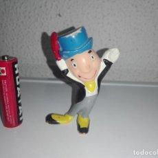 Figuras de Goma y PVC: MUÑECO FIGURA ANTIGUO PEPITO GRILLO PINOCHO 1C. Lote 131478042
