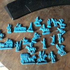 Figuras de Goma y PVC: FIGURAS DEL OESTE MONTAPLEX-22 FIGURAS. Lote 131497075