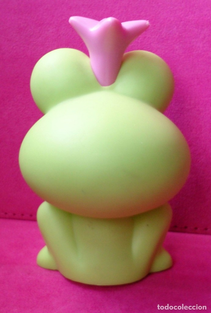 Figuras de Goma y PVC: Figura rana con corona TM MGA - Foto 2 - 131578942