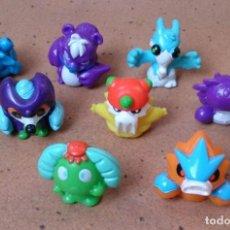 Figuras de Goma y PVC: LOTE 8 BUNGEES BIONIC MÁGIC BOX . Lote 131606678