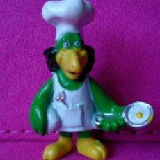 Figuras de Goma y PVC: FIGURA MINIATURA PVC PÁJARO COCINERO . Lote 131625562