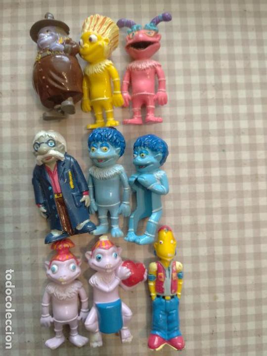 LOTE 9 FIGURAS LOS LUNNIS HUEVOS KINDER (Juguetes - Figuras de Gomas y Pvc - Kinder)