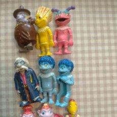 Figuras Kinder: LOTE 9 FIGURAS LOS LUNNIS HUEVOS KINDER. Lote 131663978