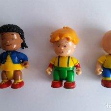 Figuras de Goma y PVC: FIGURAS PIN Y PON DE CAILLOU.. Lote 131680066