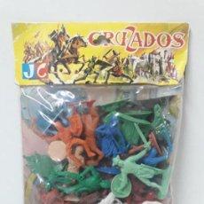 Gummi- und PVC-Figuren - CRUZADOS - REF 637 . REALIZADOS POR JECSAN . AÑOS 60 / 70 - 131850370