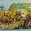 Figuras de Goma y PVC: SOBRE MONTAPLEX ATRACO A LA DILIGENCIA - REF 1037/C - NUEVO SIN ABRIR. Lote 131852578
