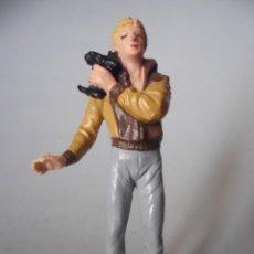 Figuras de Goma y PVC: MIKE DONOVAN FIGURA DE PVC DE LA SERIE DE TV V VISITANTES INVASORES 1983. Lote 131914114
