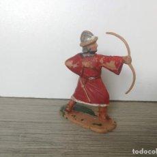 Figuras de Goma y PVC: ANTIGUA FIGURA DE REAMSA - SERIE GUERREROS MOROS CID CAMPEADOR - PINTURA ORIGINAL A MANO - AÑOS 60 -. Lote 131942954