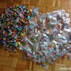 Figuras Kinder: LOTE DE FIGURAS KINDER FERRERO - 6,300 KG - MÁS DE 600 FUGURAS - VER VIDEO!!!!. Lote 132016266