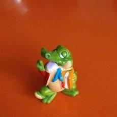 Figuras Kinder: KINDER SORPRESA FIGURA COCODRILO. Lote 132029658