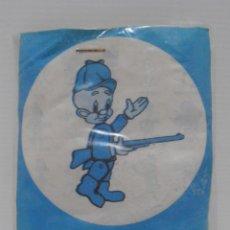 Figuras de Goma y PVC: FIGURA PROMOCIONAL WARNER DETERGENTE OMO, ELMER GRUÑON, BOLSA ORIGINAL NUNCA ABIERTA, DUNKIN. Lote 132079142