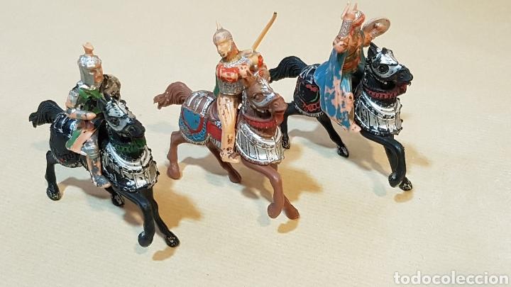 JINETES Y CABALLOS ARABE MEDIEVAL CABALLERO REAMSA (Juguetes - Figuras de Goma y Pvc - Reamsa y Gomarsa)
