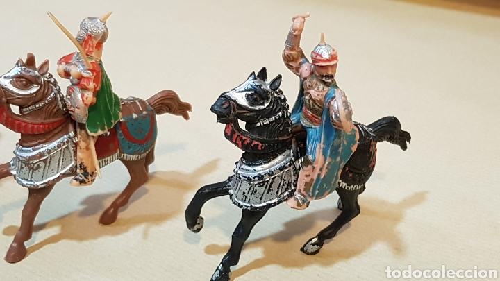 Figuras de Goma y PVC: JINETES Y CABALLOS ARABE MEDIEVAL CABALLERO REAMSA - Foto 3 - 132123525