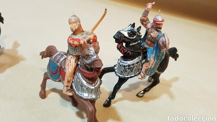 Figuras de Goma y PVC: JINETES Y CABALLOS ARABE MEDIEVAL CABALLERO REAMSA - Foto 4 - 132123525
