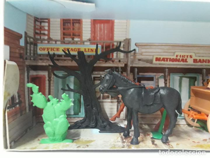 Figuras de Goma y PVC: CARRETA DE CARGA . JECSARAMAS DEL OESTE - REF 328 . REALIZADA POR JECSAN . AÑOS 60 / 70 - Foto 4 - 132190994