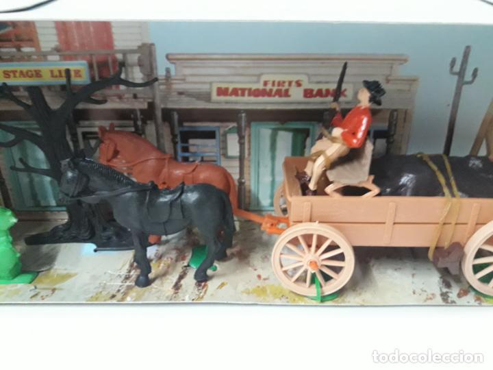 Figuras de Goma y PVC: CARRETA DE CARGA . JECSARAMAS DEL OESTE - REF 328 . REALIZADA POR JECSAN . AÑOS 60 / 70 - Foto 6 - 132190994