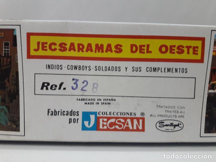 Figuras de Goma y PVC: CARRETA DE CARGA . JECSARAMAS DEL OESTE - REF 328 . REALIZADA POR JECSAN . AÑOS 60 / 70 - Foto 8 - 132190994
