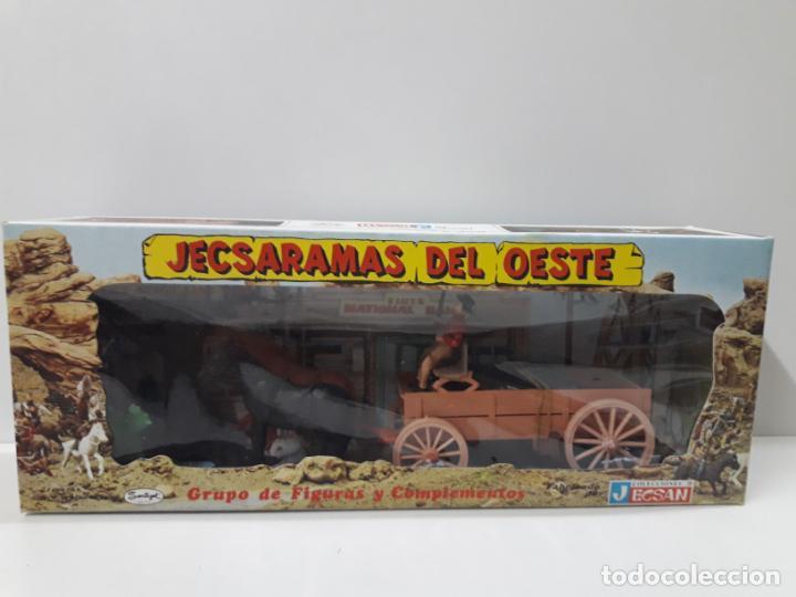 Figuras de Goma y PVC: CARRETA DE CARGA . JECSARAMAS DEL OESTE - REF 328 . REALIZADA POR JECSAN . AÑOS 60 / 70 - Foto 10 - 132190994
