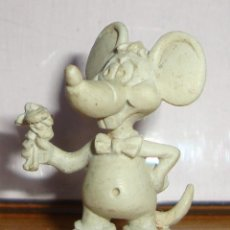 Figuras de Goma y PVC: (TC-131) RARAS FIGURAS DE TOPO GIGIO ??? DUNKIN ??? PLASTICO DURO. Lote 132262466