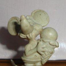 Figuras de Goma y PVC: (TC-131) RARAS FIGURAS DE TOPO GIGIO ??? DUNKIN ??? PLASTICO DURO. Lote 132262654