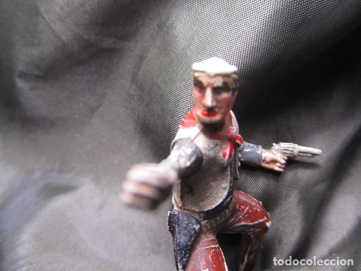 Figuras de Goma y PVC: PISTOLERO VAQUERO DE GOMA SOTORRES - Foto 6 - 132279070