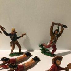 Figuras de Goma y PVC: 5 FIGURAS COMANSI PRIMERA ÉPOCA. Lote 132336506