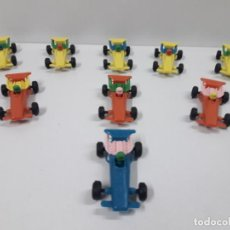 Figuras de Goma y PVC: LOTE DE BOLIDOS DE CARRERAS . JUGUETE KIOSCO . AÑOS 70. Lote 132415062
