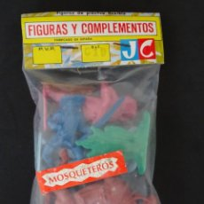 Figuras de Goma y PVC: JECSAN MOSQUETEROS BOLSA. Lote 132418662