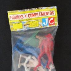 Figuras de Goma y PVC: JECSAN NAPOLEONICOS BOLSA. Lote 132424118