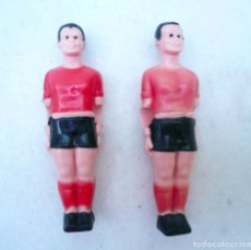 Figuras de Goma y PVC: JUGADOR FUTBOLIN. LOTE DE 2. SON DE PLÁSTICO. FRANCIA. Lote 132507610