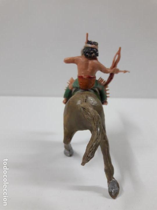 Figuras de Goma y PVC: PLUMITA A CABALLO . REALIZADO POR ESTEREOPLAST . AÑOS 60 - Foto 6 - 132508594