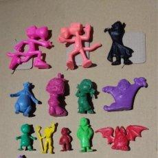 Figuras de Goma y PVC: DUNKIN LOTE. Lote 132522242