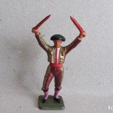 Figuras de Goma y PVC: TORERO DE STARLUX-PLASTICO RIGIDO. Lote 132623778