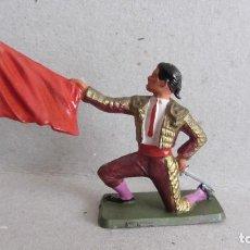 Figuras de Goma y PVC: TORERO DE STARLUX-PLASTICO RIGIDO. Lote 132623814