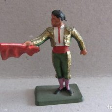 Figuras de Goma y PVC: TORERO DE STARLUX-PLASTICO RIGIDO. Lote 132624458
