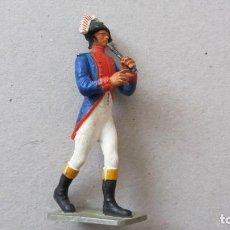 Figuras de Goma y PVC: MUSICOS DE LA GUARDIA IMPERIAL DE NAPOLEON. Lote 132625058
