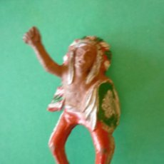 Figuras de Goma y PVC: FIGURA INDIO EN GOMA LAFREDO. Lote 132683946