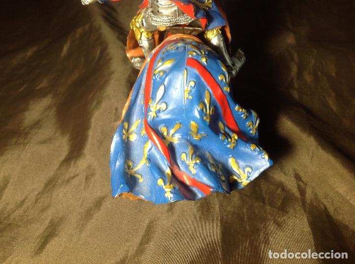 Figuras de Goma y PVC: Caballero Medieval Azul Justas Plastoy - Foto 6 - 132723206